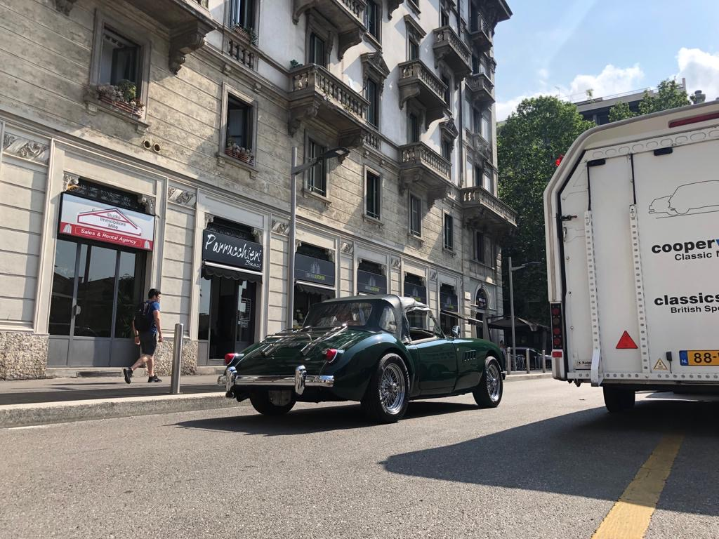 Transport Milaan
